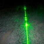 Laser über den Boden