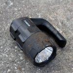 Foto der Beam Lantern nach dem Test