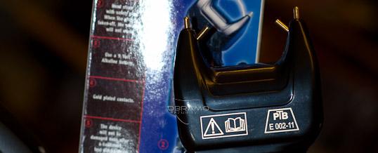 Foto eines Elektroschockers mit PTB Prüfzeichen