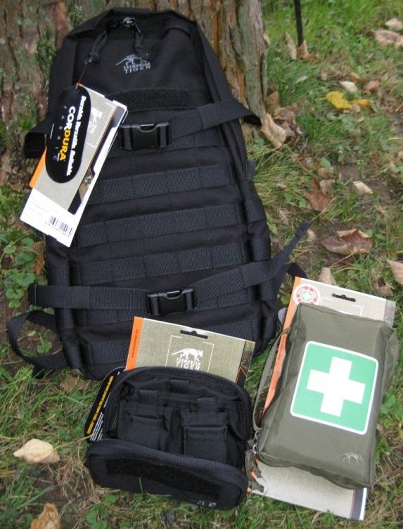 Tasmanian Tiger Essential Pack und Admin Pouch