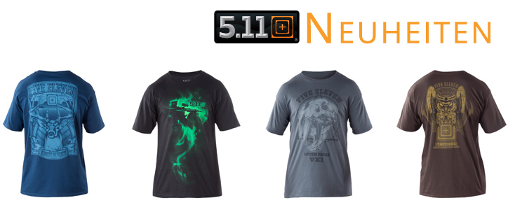 Neue 5.11 T-Shirts