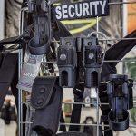 Große Auswahl an Security-Ausrüstung