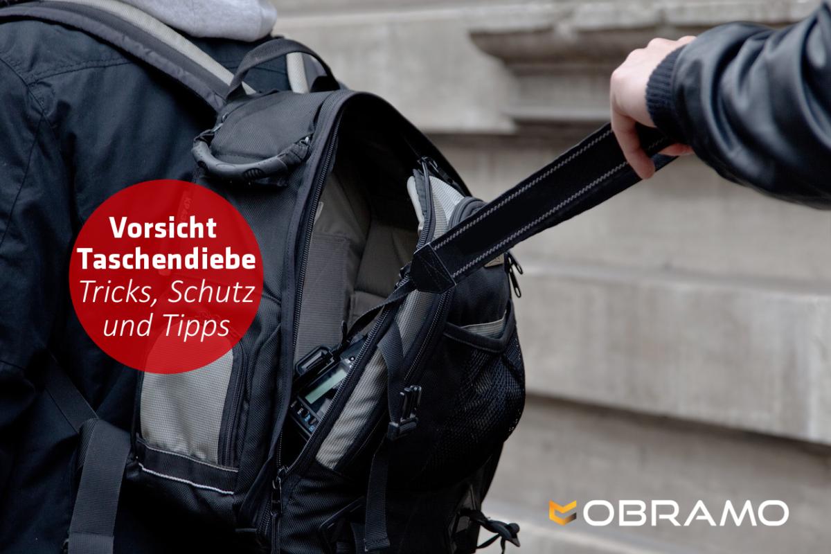 Schutz vor Taschendiebstahl